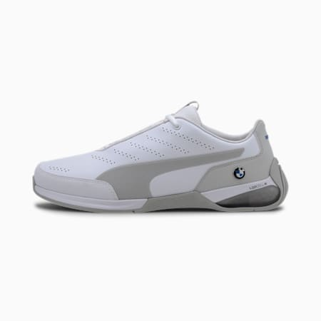 BMW M Motorsport Kart Cat X Men's Motorsport Shoes, Puma White-Gray Violet, small
