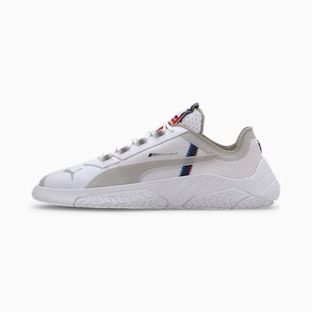 BMW M Motorsport Replicat-X Trainers, White-White-Blueprint, small
