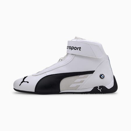 BMW M Motorsport Motorsport R-Cat Shoes, Puma White-Puma Black, small-IND