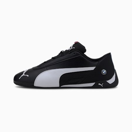 BMW M Motorsport R-Cat Men's Motorsport Shoes, Puma Black-Puma White, small