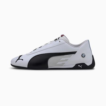 BMW M Motorsport R-Cat Men's Motorsport Shoes, Puma White-Puma Black, small