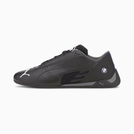 BMW M Motorsport R-Cat Trainers, Puma Black-Puma Black, small