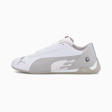 BMW M Motorsport R-Cat Unisex Shoes, Puma White-Puma White, small-IND
