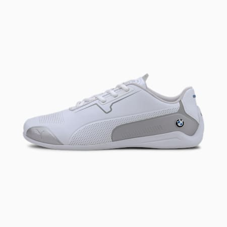 BMW M Motorsport Drift Cat 8 Trainers, Puma White-Puma Silver, small