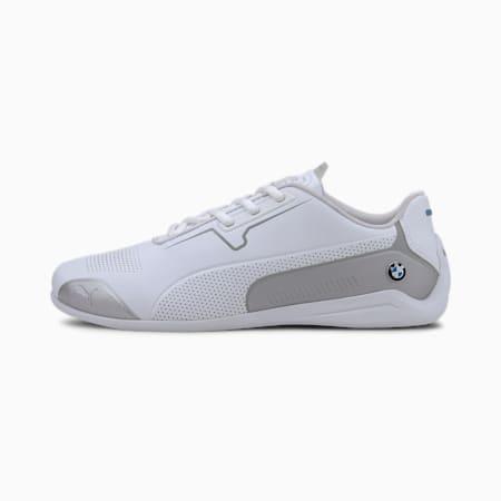 BMW M Motorsport Drift Cat 8 Shoes, Puma White-Puma Silver, small-IND