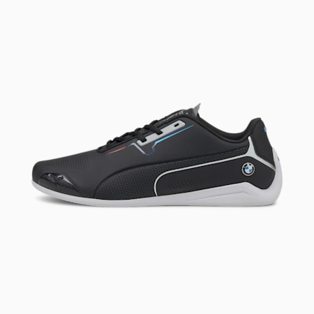 BMW M Motorsport Drift Cat 8 Trainers, Puma Black-Puma Black, small
