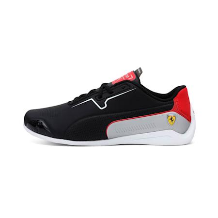 Scuderia Ferrari Drift Cat 8 Shoes, Puma Black-Puma White, small-IND