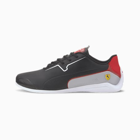 Scuderia Ferrari Drift Cat 8 Men's Motorsport Shoes, Puma Black-Puma White, small