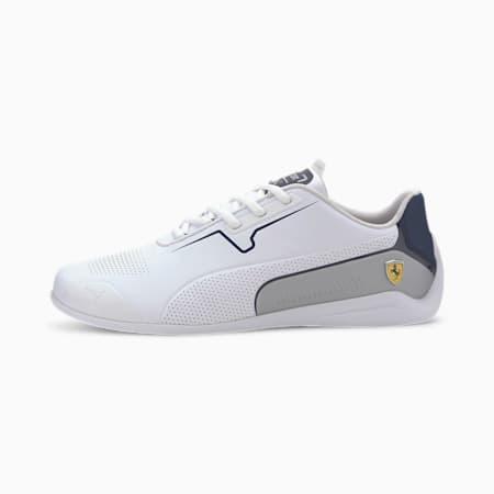 Scuderia Ferrari Drift Cat 8 Men's Motorsport Shoes, Puma White-Peacoat, small