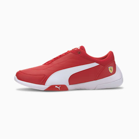 Scuderia Ferrari Kart Cat III Motorsport Shoes, Rosso Corsa-Puma White, small