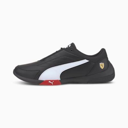 Scuderia Ferrari Kart Cat III Men's Motorsport Shoes, Puma Black-Puma White, small