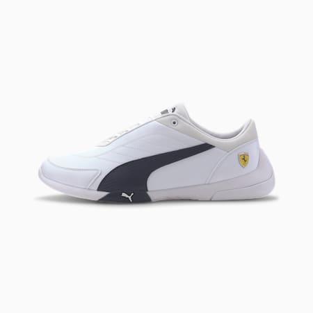 Scuderia Ferrari Kart Cat III Men's Motorsport Shoes, Puma White-Peacoat, small