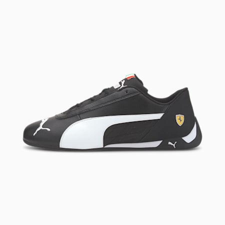 Scuderia Ferrari R-Cat Trainers, Black-White-Black, small-SEA