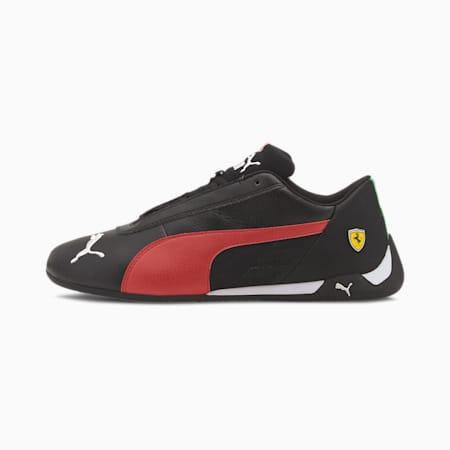 Scuderia Ferrari R-Cat Trainers, Puma Black-Rosso Corsa, small
