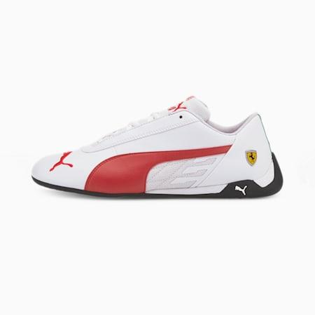 Ferrari R-Cat Sneaker, Puma White-Rosso Corsa, small