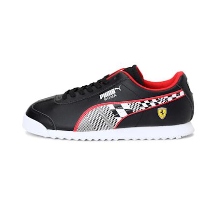 Scuderia Ferrari Roma Men's Shoes, Puma Black-Puma White, small-IND
