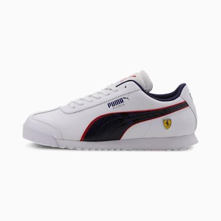 Scuderia Ferrari Roma Men's Sneakers, Puma White-Peacoat, small