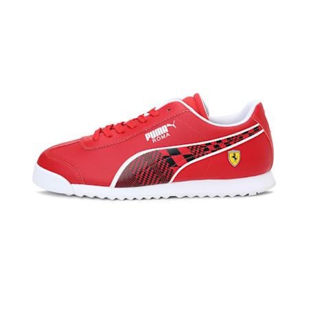 Scuderia Ferrari Roma Men's Shoes, Rosso Corsa-Puma Black, small-IND