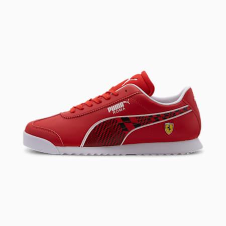 Scuderia Ferrari Roma Men's Sneakers, Rosso Corsa-Puma Black, small