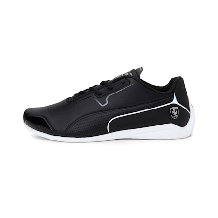 Scuderia Ferrari Drift Cat 8 Shoes, Puma Black-Puma White, small-IND