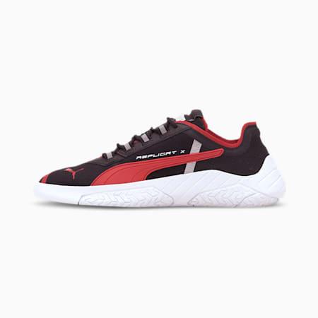 Ferrari Replicat-X Sneaker, Black-Rosso Corsa-White, small