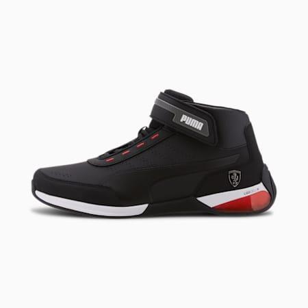 Scuderia Ferrari Kart Cat X Men's Shoes, Puma Black-Puma Black, small-IND