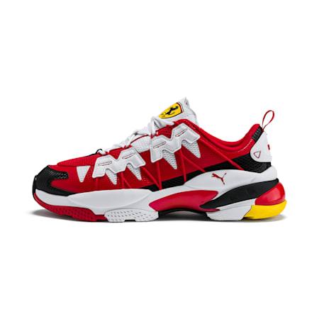 Scuderia Ferrari LQDCELL Omega Men's Training Shoes, P Wht-RossoCorsa-Vibrant Ylw, small