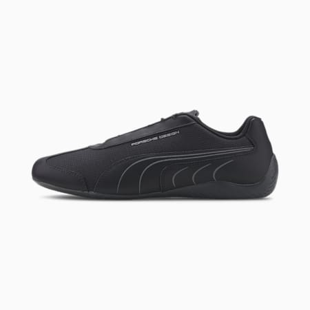 Zapatos de automovilismo Porsche Design Speedcat para hombre, Jet Black-Jet Black, pequeño