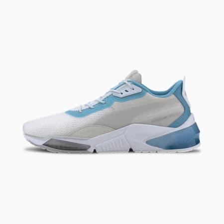 Zapatos de entrenamiento Porsche Design LQDCELL para hombre, Puma White-Ethereal Blue, pequeño