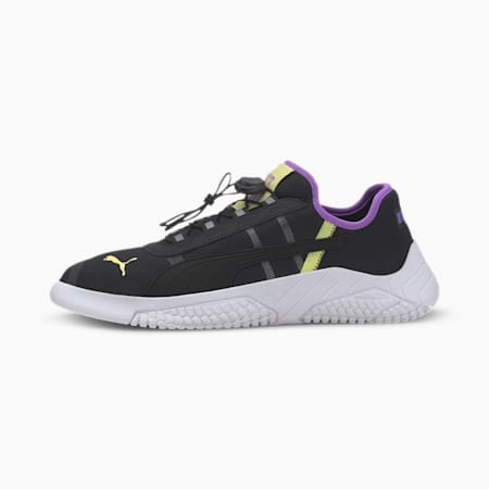 Replicat-X 1.8 Pirelli Trainers, Blk-Luminos Purple-Snny Lime, small