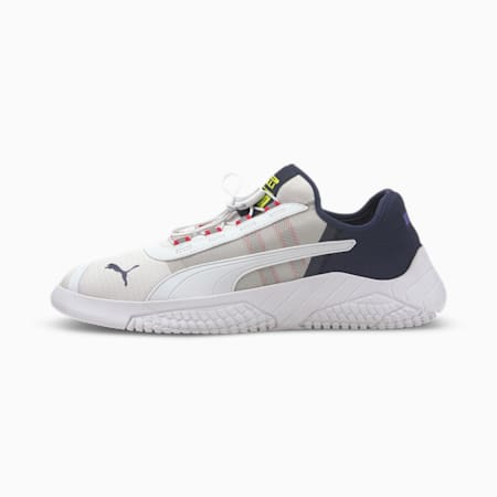 Replicat-X 1.8 Pirelli Trainers, Puma White-Peacoat-Limepunch, small