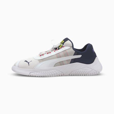 Replicat-X 1.8 Pirelli Men's Motorsport Shoes, Puma White-Peacoat-Limepunch, small