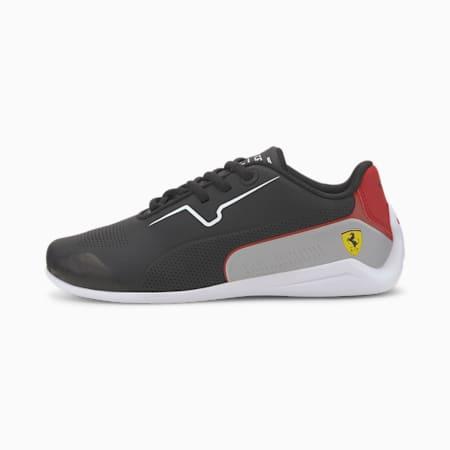 Młodzieżowe buty sportowe Scuderia Ferrari Drift Cat 8, Puma Black-Puma White, small