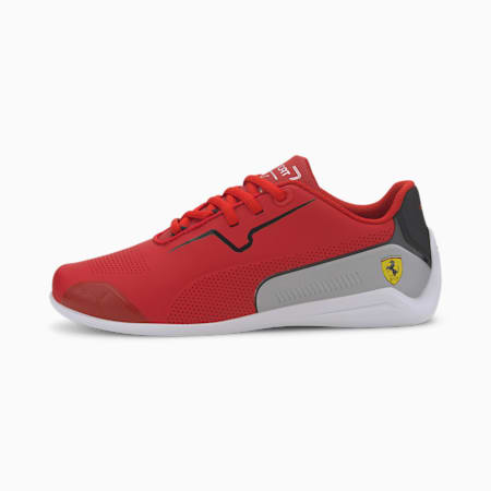 SF Drift Cat 8 Kid's Shoes, Rosso Corsa-Puma Black, small-IND