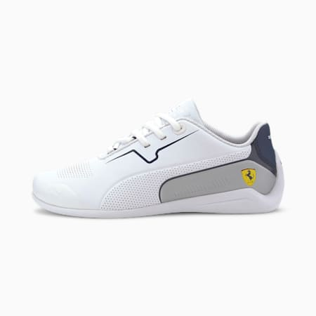 Scuderia Ferrari Drift Cat 8 Motorsport Shoes JR, Puma White-Peacoat, small