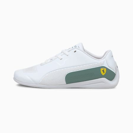 SF Drift Cat 8 Kid's Shoes, Rosso Corsa-Puma White, small-IND