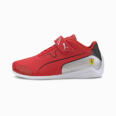 SF Drift Cat 8 V PS Unisex Shoes, Rosso Corsa-Puma Black, small-IND
