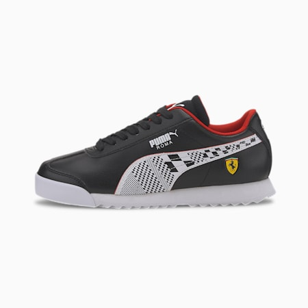 Scuderia Ferrari Roma Sneakers JR, Puma Black-Puma White, small