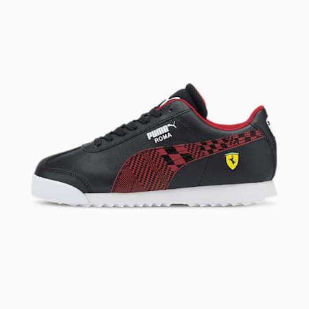 Scuderia Ferrari Roma Sneakers JR, Puma Black-Rosso Corsa, small