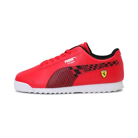 Scuderia Ferrari Roma Kid's Shoes, Rosso Corsa-Puma Black, small-IND