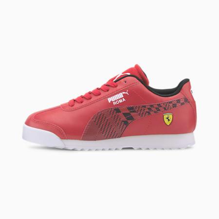 Scuderia Ferrari Roma Sneakers JR, Rosso Corsa-Puma Black, small