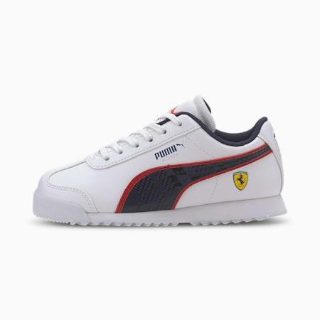 Scuderia Ferrari Roma Little Kids' Shoes, Puma White-Peacoat, small