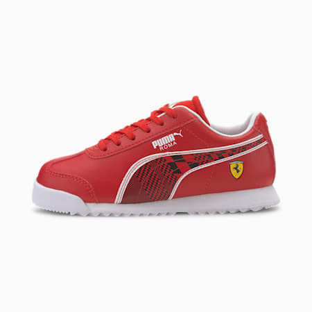 Scuderia Ferrari Roma Little Kids' Shoes, Rosso Corsa-Puma Black, small