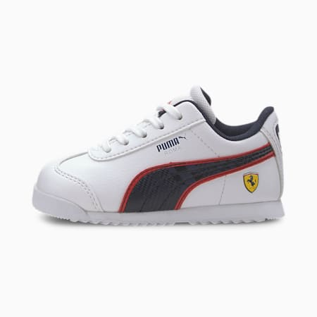 Scuderia Ferrari Roma Toddler Shoes, Puma White-Peacoat, small