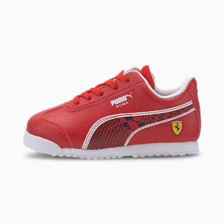 Scuderia Ferrari Roma Toddler Shoes, Rosso Corsa-Puma Black, small