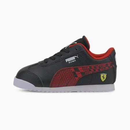 Scuderia Ferrari Roma Toddler Shoes, Puma Black-Rosso Corsa, small