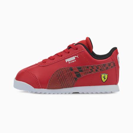 Zapatos Scuderia Ferrari Roma para bebé, Rosso Corsa-Puma Black, pequeño