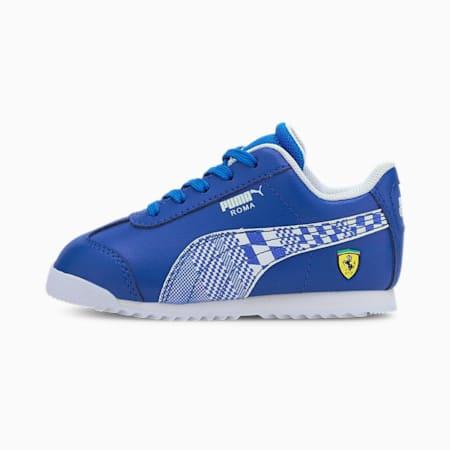 Scuderia Ferrari Roma Toddler Shoes, Olympian Blue-Puma White, small