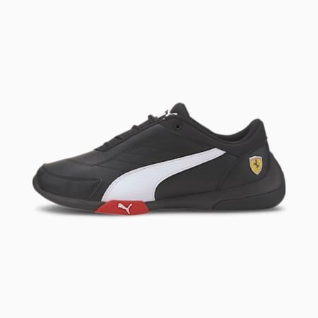 Scuderia Ferrari Kart Cat III Motorsport Shoes JR, Puma Black-Puma White, small