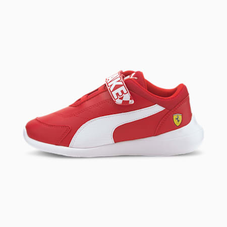 Scuderia Ferrari Kart Cat III V Kids' Trainers, Rosso Corsa-Puma White, small-SEA